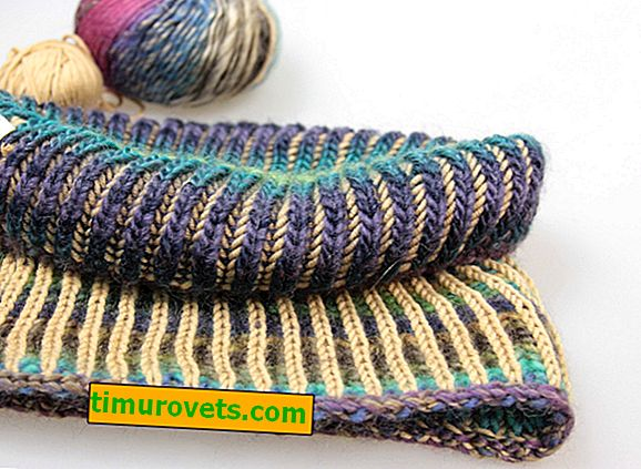 Brioche: how to knit in this technique