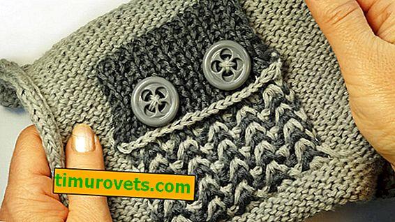 Hvordan binder jeg patchelommer med strikkepinde?