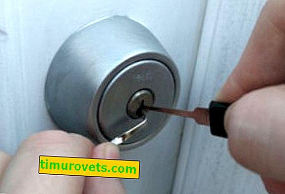 Как да отворите ключалката с фиби?