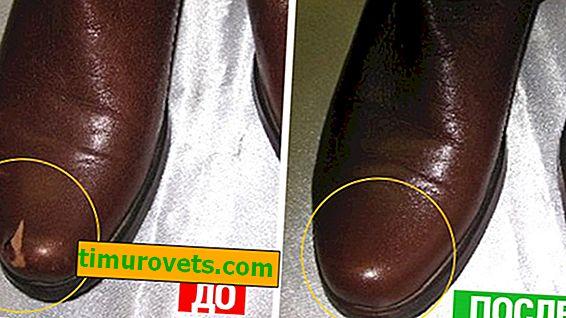 Kako ukloniti ogrebotine s kožnih cipela