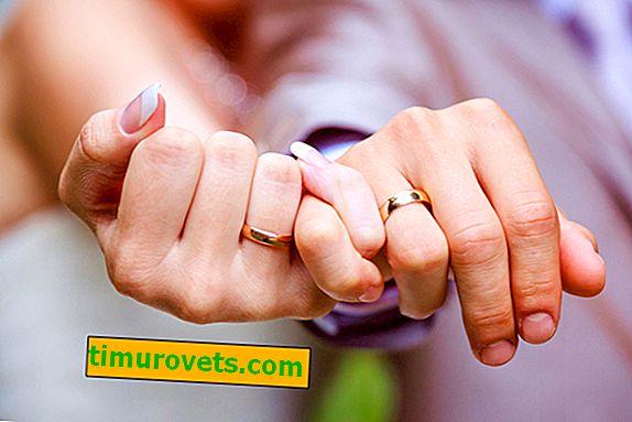 Mister en manns forlovelsesring: omens