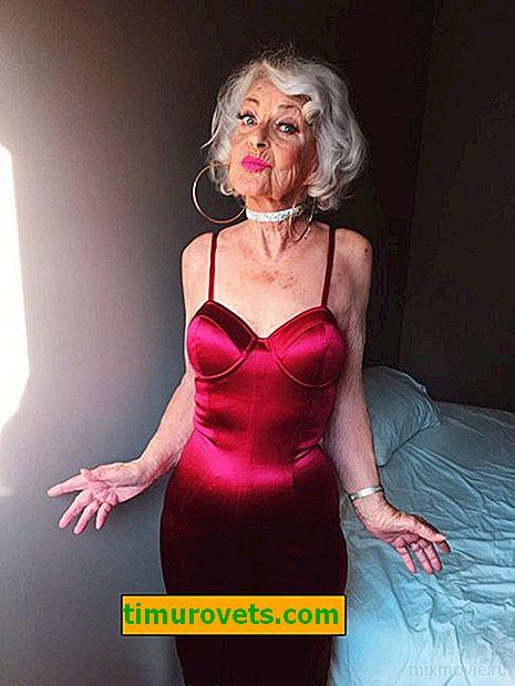 Най-модерната баба в света