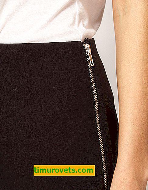Cómo coser una cremallera en una falda tú mismo