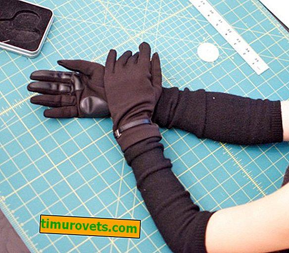 Sådan syr man handsker fra strik