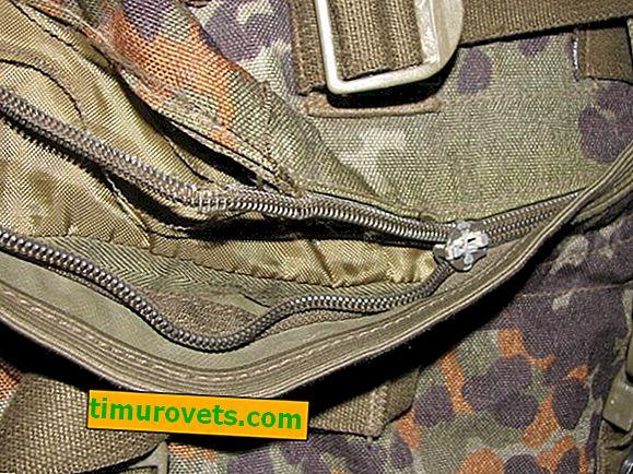 Reemplazo de cremallera de mochila