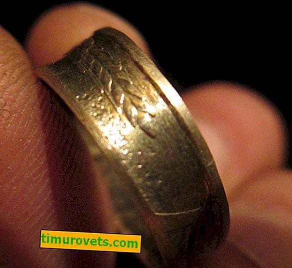 Как да направите пръстен от монета