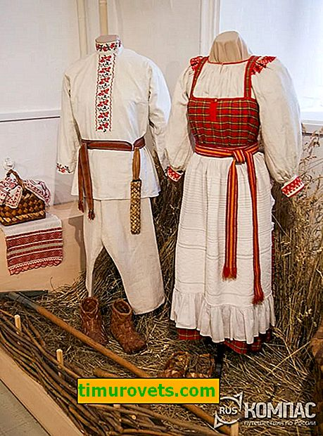 Kostium ślubny mieszkańców regionu Kaługi