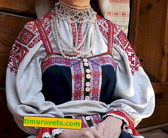 Vjenčana nošnja naroda Lenjingradske regije
