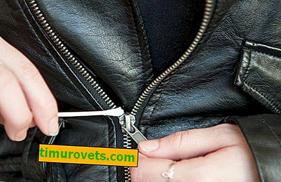 ¿Cómo engrasar una cremallera en una chaqueta?