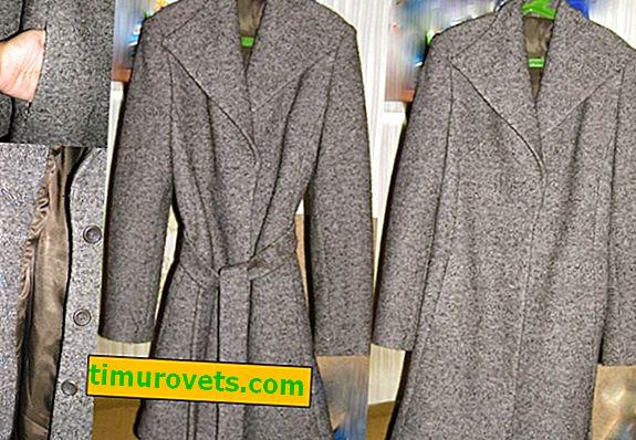 Как да премахнете следи от бутони върху палто?
