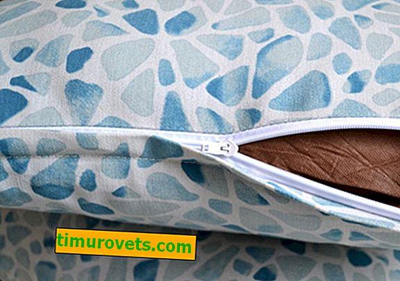 Kako šivati skriven patentni zatvarač u jastučnicu?
