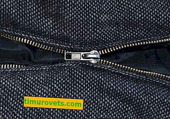Reißverschluss an der Tasche divergiert, wie man es repariert?