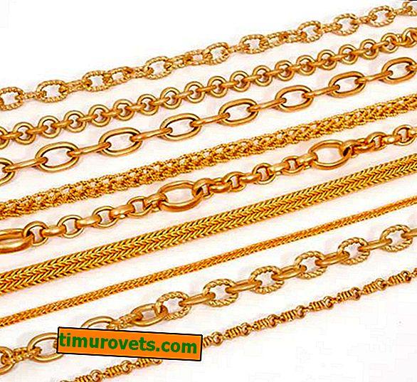 Как да изберем златна верига