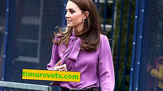 Zašto je Kate Middleton odjenula bluzu unatrag