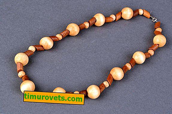 DIY wooden beads