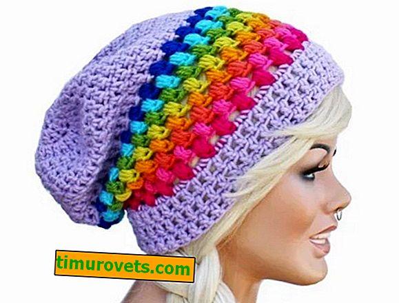 Women's crochet beanie hat