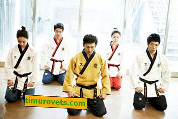 Wie binde ich einen Taekwondo-Gürtel?