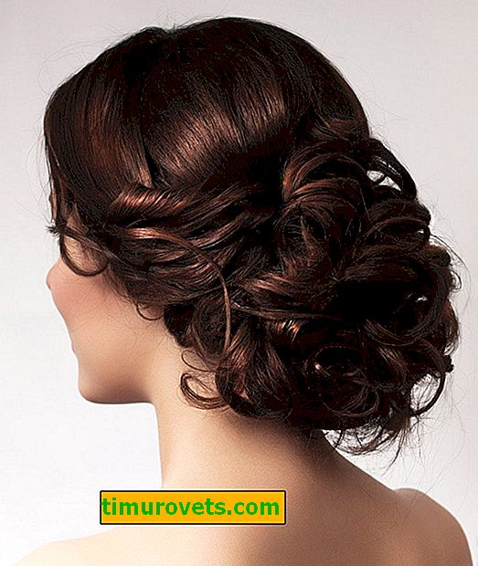 Frisuren mit Haarnadel-Twister