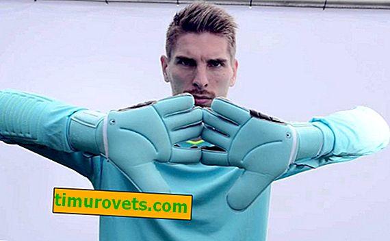Как да определим размера на ръкавиците за вратари?