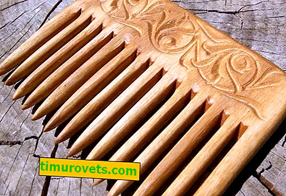How to make a comb from wood