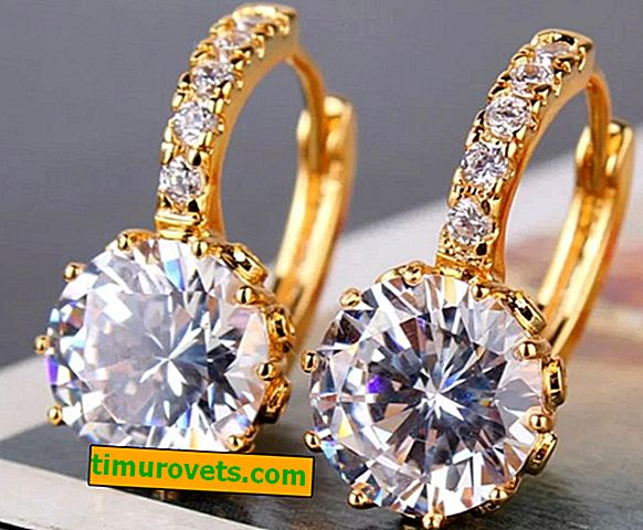 Wie man Diamantohrringe wählt?