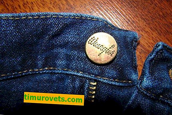Hur man byter en knapp på jeans
