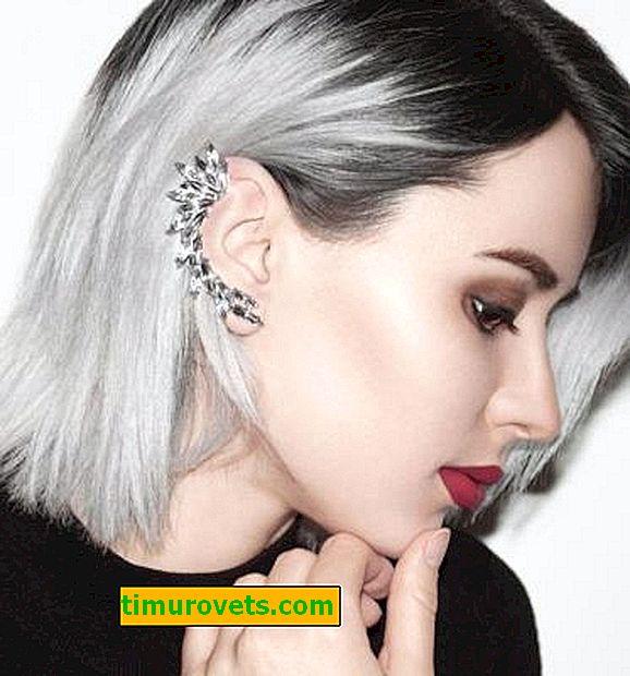 Boucles d'oreilles manchette: comment porter?