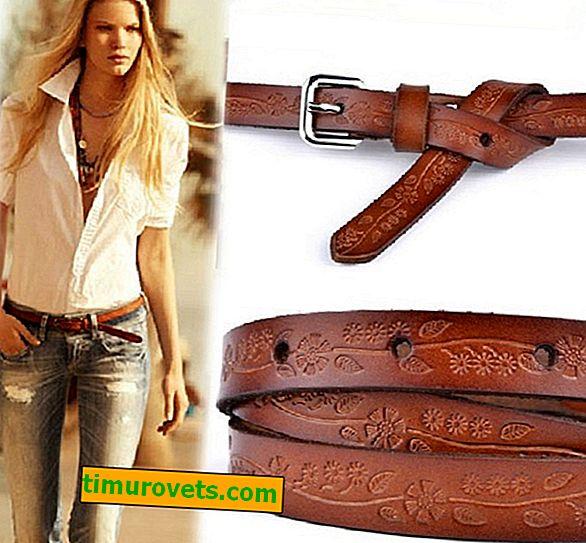 Comment porter une ceinture marron