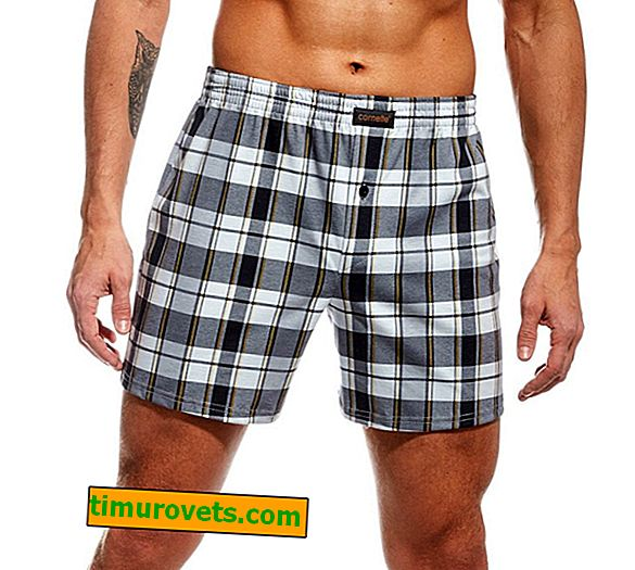 Pattern of male family underpants