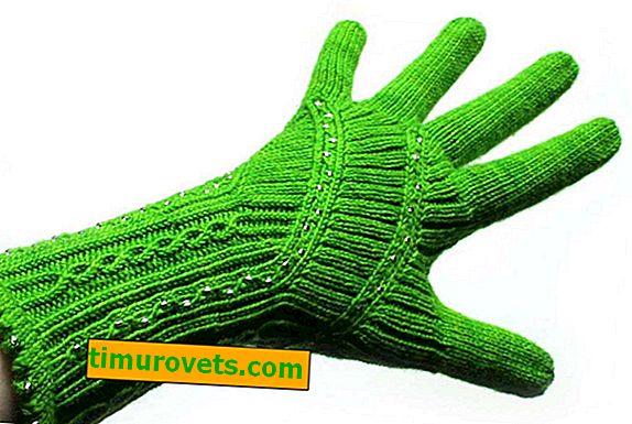 Плетива ръкавици: модели