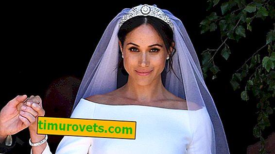 Il mistero del velo da sposa Meghan Markle: tessuto Lasuckt blu in velo