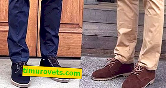 How should the colors of men's shoes and trousers be combined