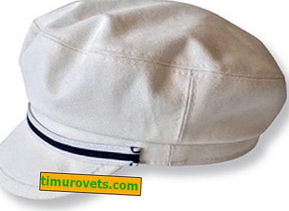 Pattern of a female cap