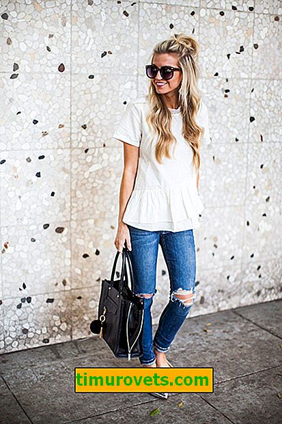 What to wear to look feminine in jeans