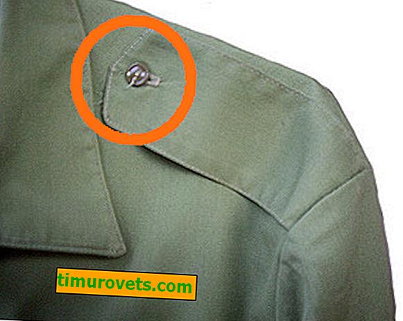За какво е направен копчето на рамото на ризата?