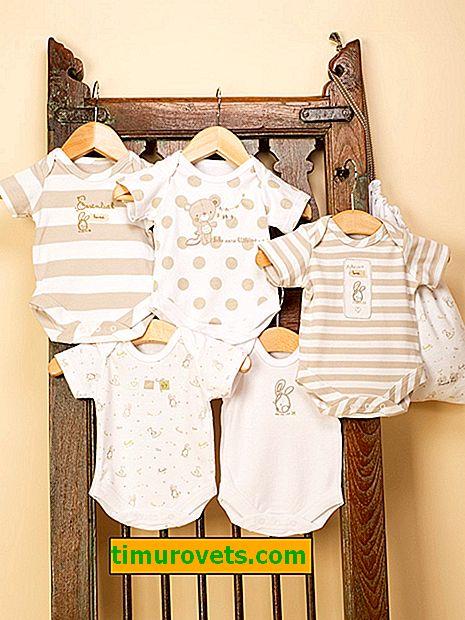 Vzorek kombinézu pro novorozence