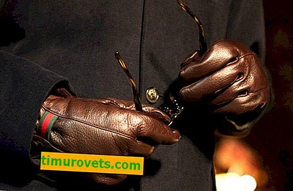 Размери на мъжки ръкавици