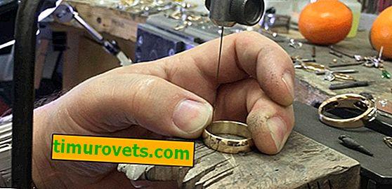 Jak zvětšit velikost prstenu?