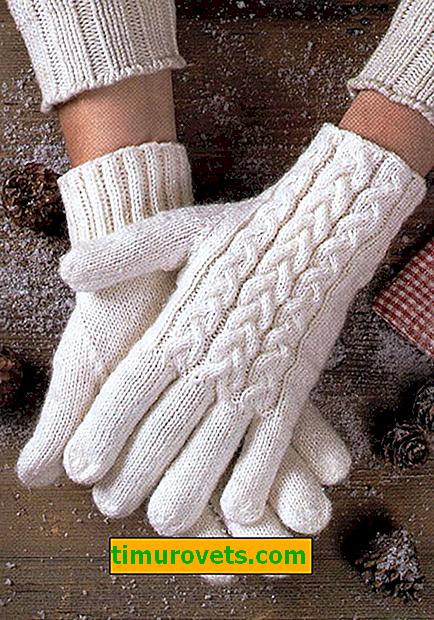 Плетене на дамски ръкавици