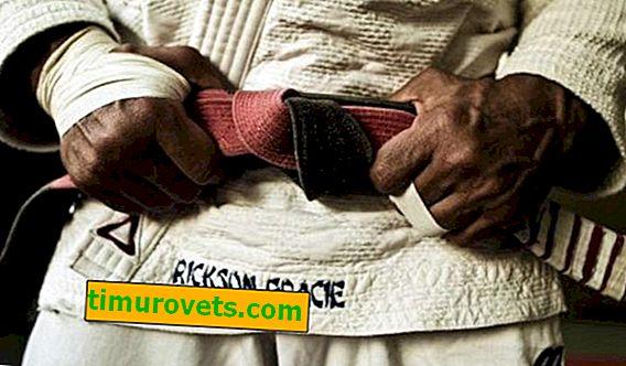 Jiu Jitsu ceintures dans l'ordre