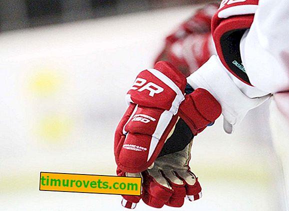 Как се наричат хокейните ръкавици