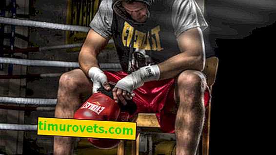 Размери на боксови ръкавици