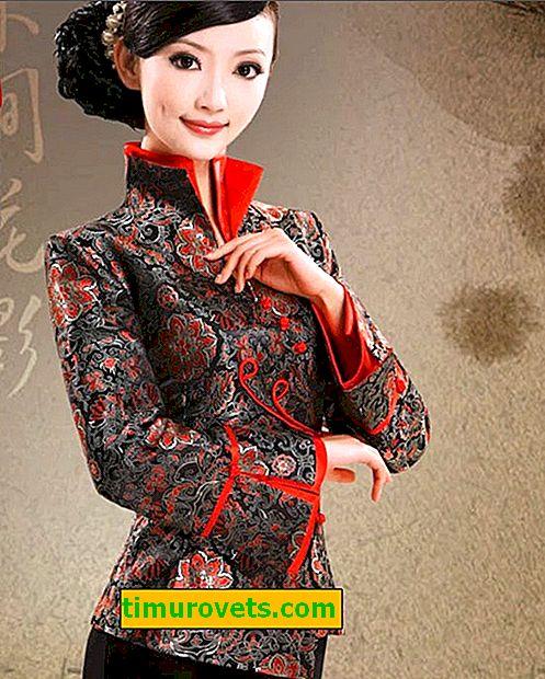Vil du legge til eksotisk utseende i utseendet ditt?  Bruk asiatisk-inspirerte klær!
