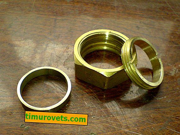 DIY-ring van noten