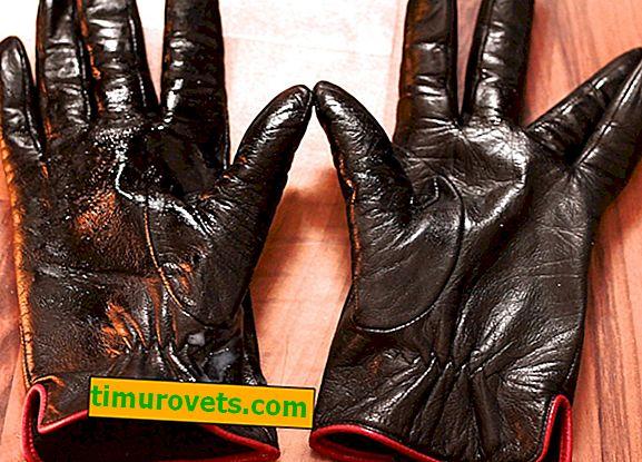 Ремонт на кожени ръкавици