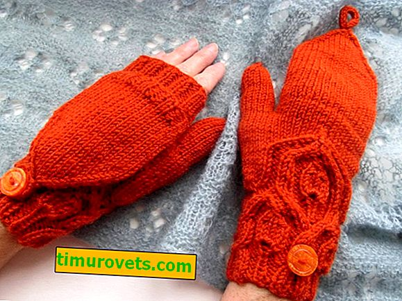 Трикотажни трансформаторни ръкавици