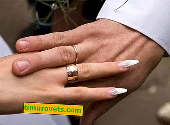 Коя ръка носи брачен пръстен?