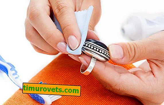 Как да почистите сребърен пръстен?