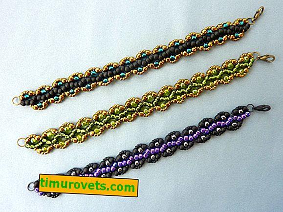 Perlenstickerei: Armbänder - Entwürfe für Anfänger, Foto