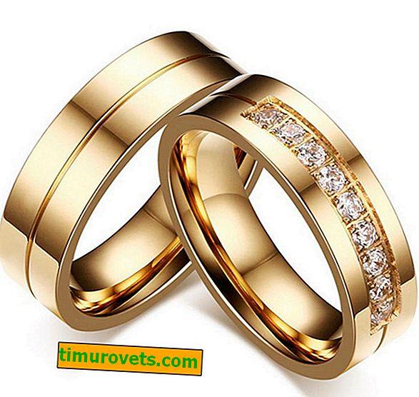 ¿Deberían los anillos de boda ser iguales?